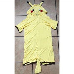 Other - Pikachu Short Sleeve Sheer Onesie